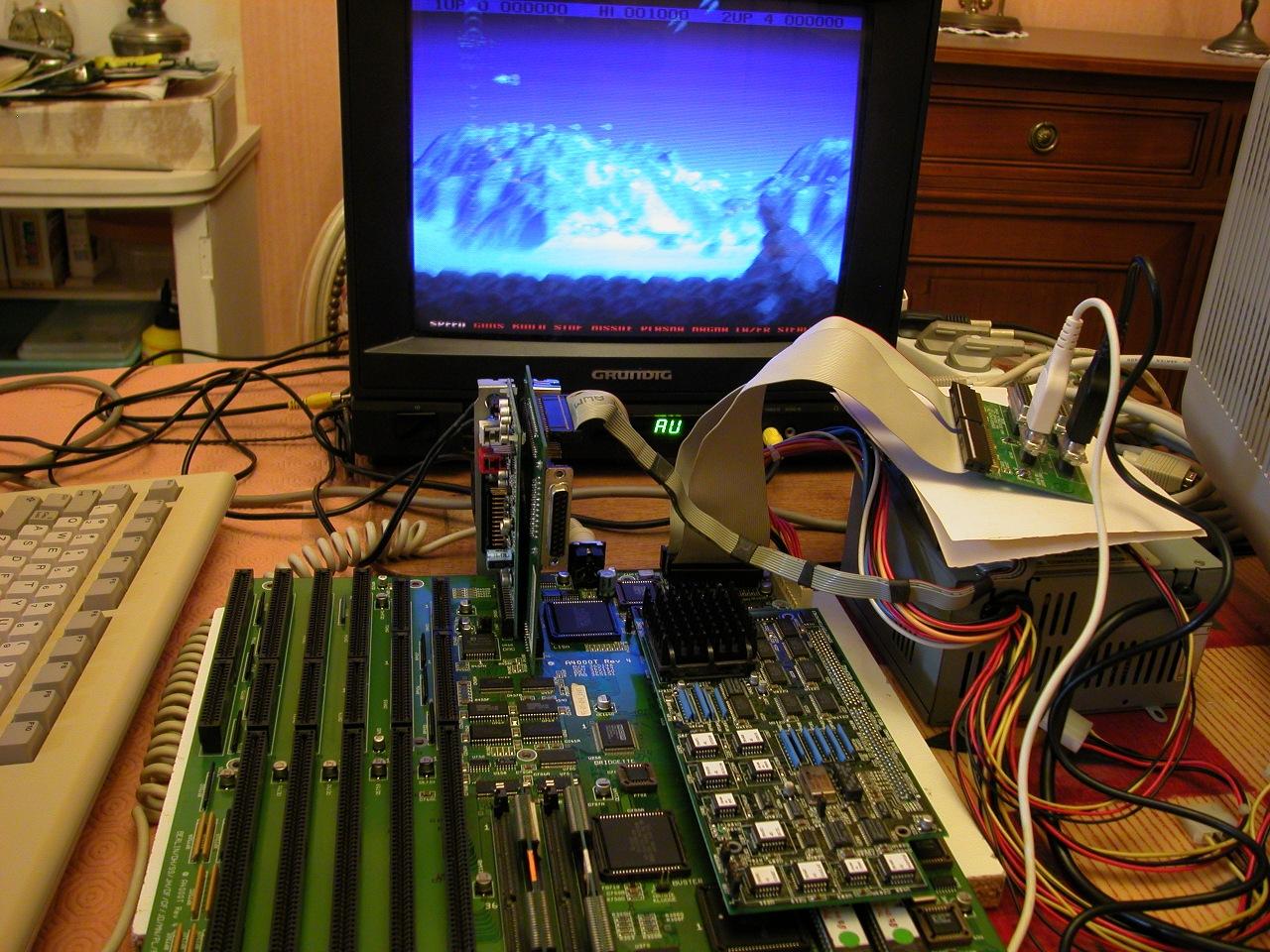 Un Amiga 4000T de nouveau fonctionnel.